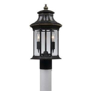 Hampton Bay Imperial Bronze Finish Post Light