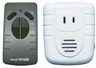Heath Zenith SL-6008-WH-A Wireless Command Remote Control Lamp Set