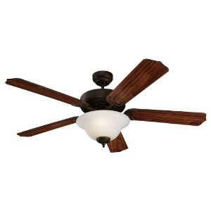 Monte Carlo Roman Bronze Finish Homeowner Fan