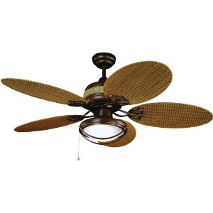 Yosemite Home Decor Tropical Breeze Ceiling Fan