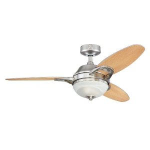 "Westinghouse Arcadia Two-Light 46"" Reversible Fan"